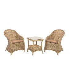 Комплектация CHALET: Кресло 2шт, софа 1шт, стол CHALET 90x160Цвет: pink